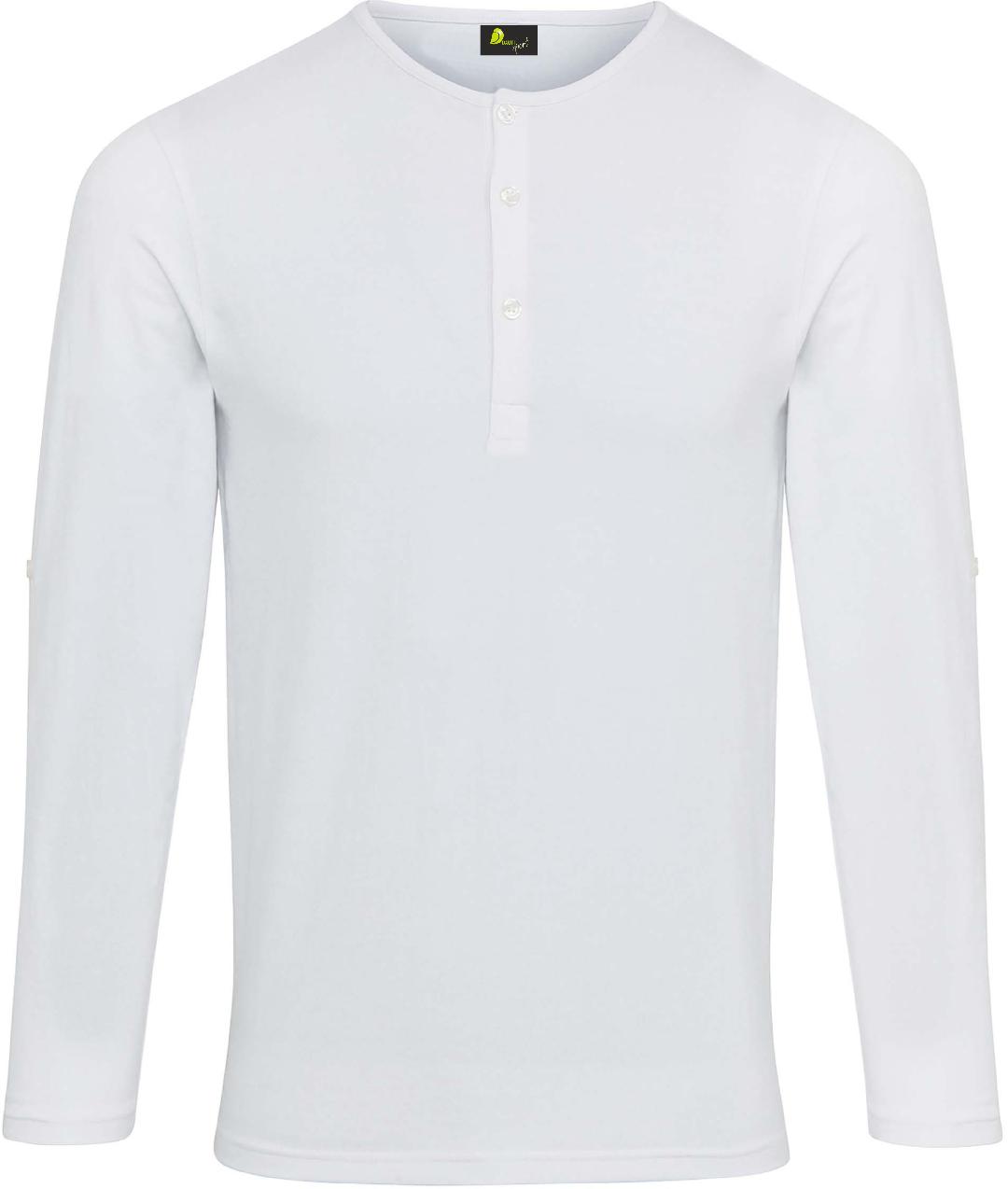 T-shirt de homem com mangas dobráveis