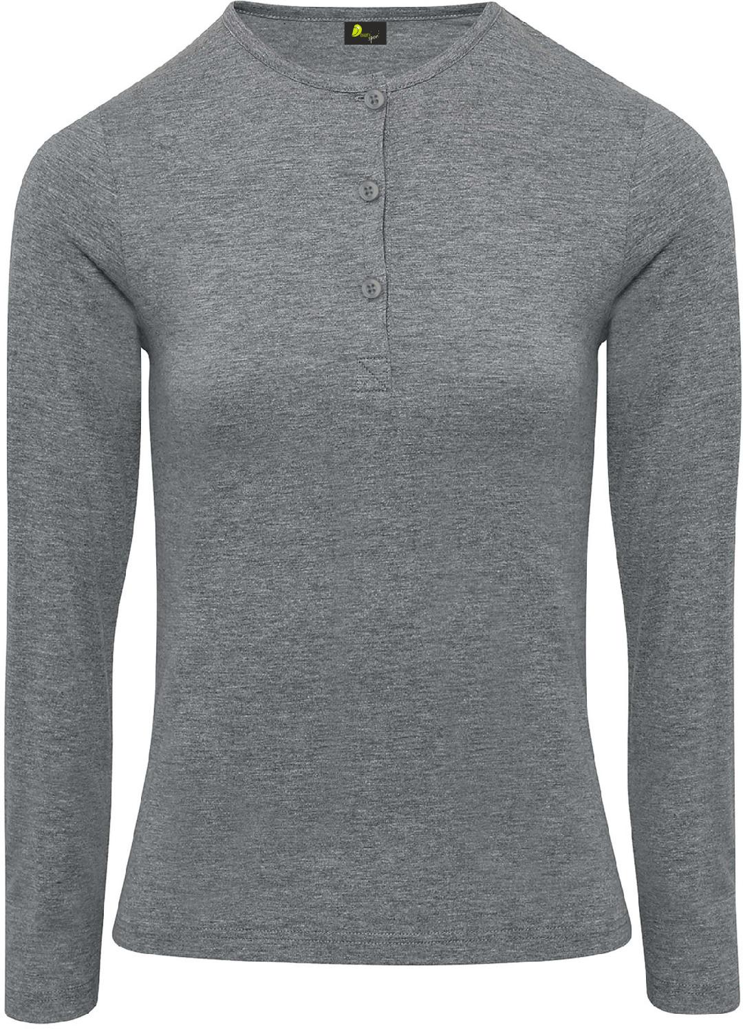 T-shirt de senhora com mangas dobráveis