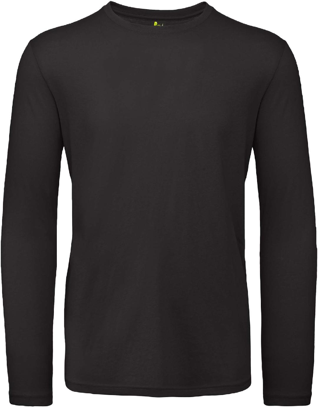 T-shirt de homem de manga comprida
