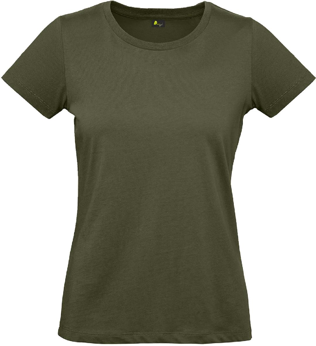 T-shirt de senhora em algodão biológico