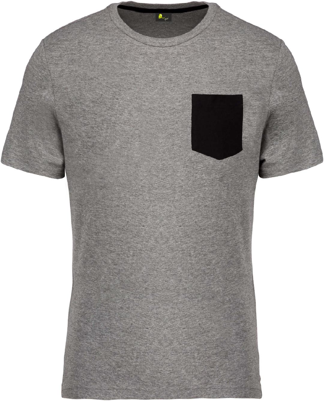 T-shirt de Homem em algodão biológico
