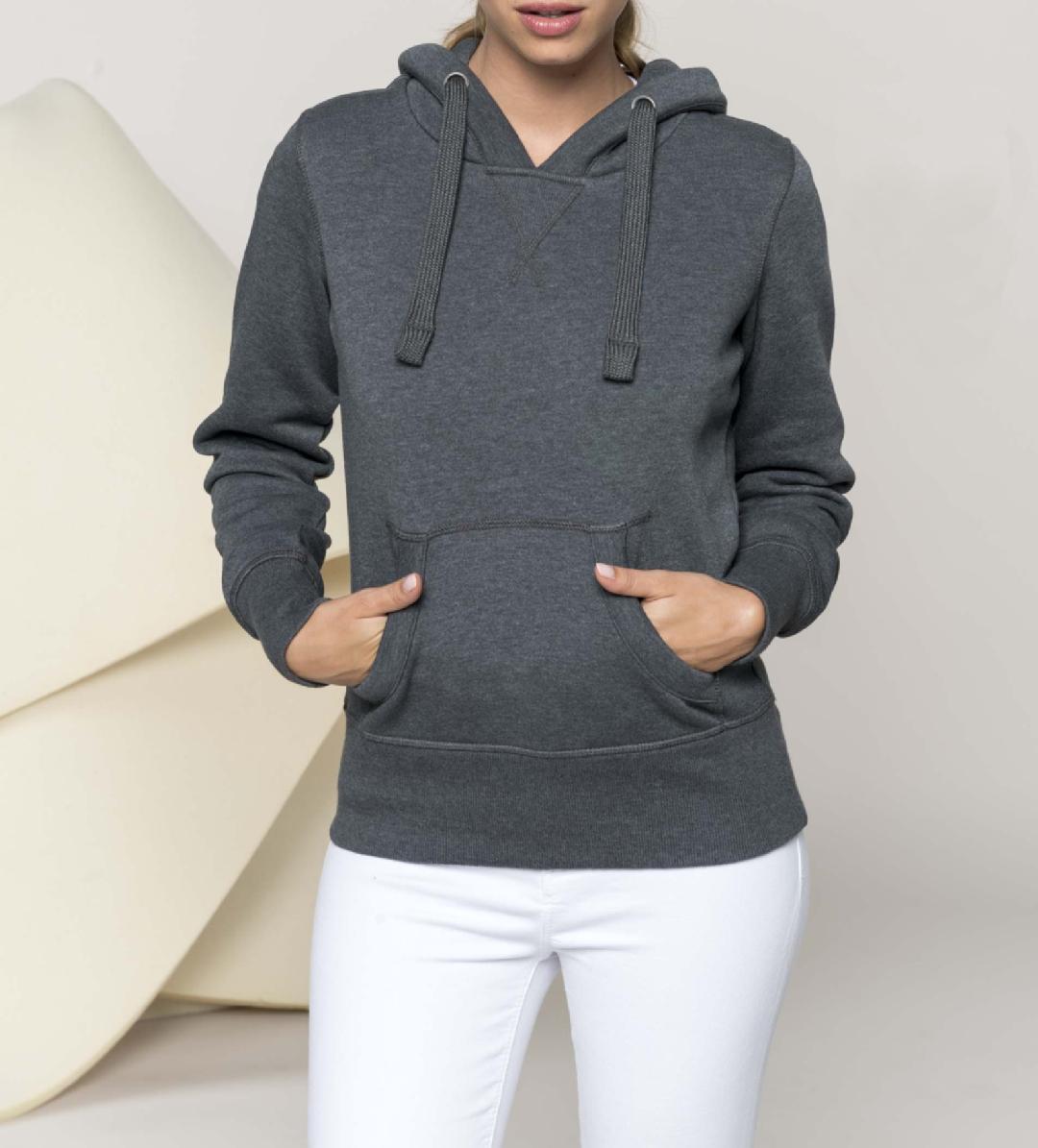 Sweatshirt de Senhora com capuz