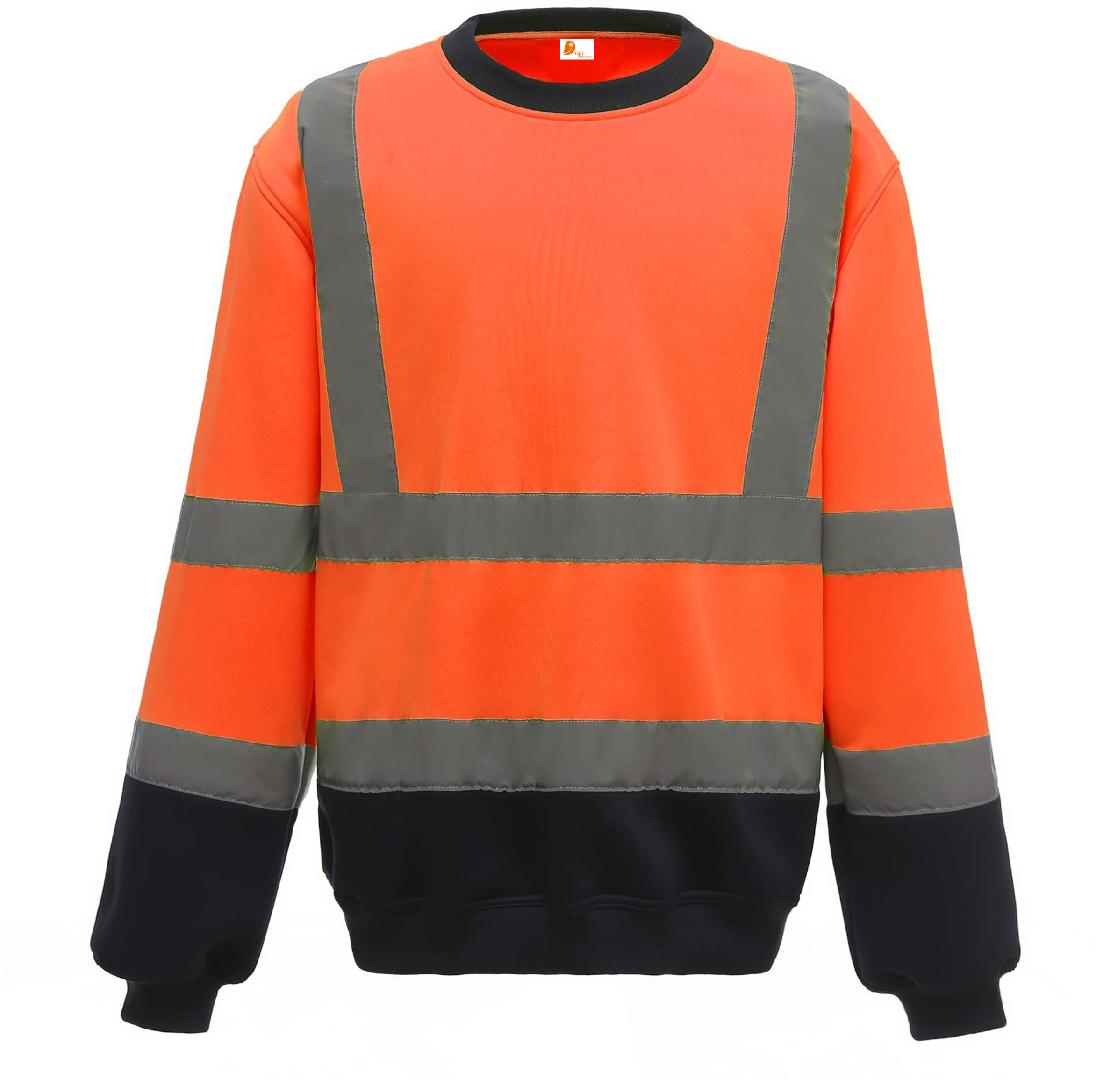 Sweatshirt de alta visibilidade