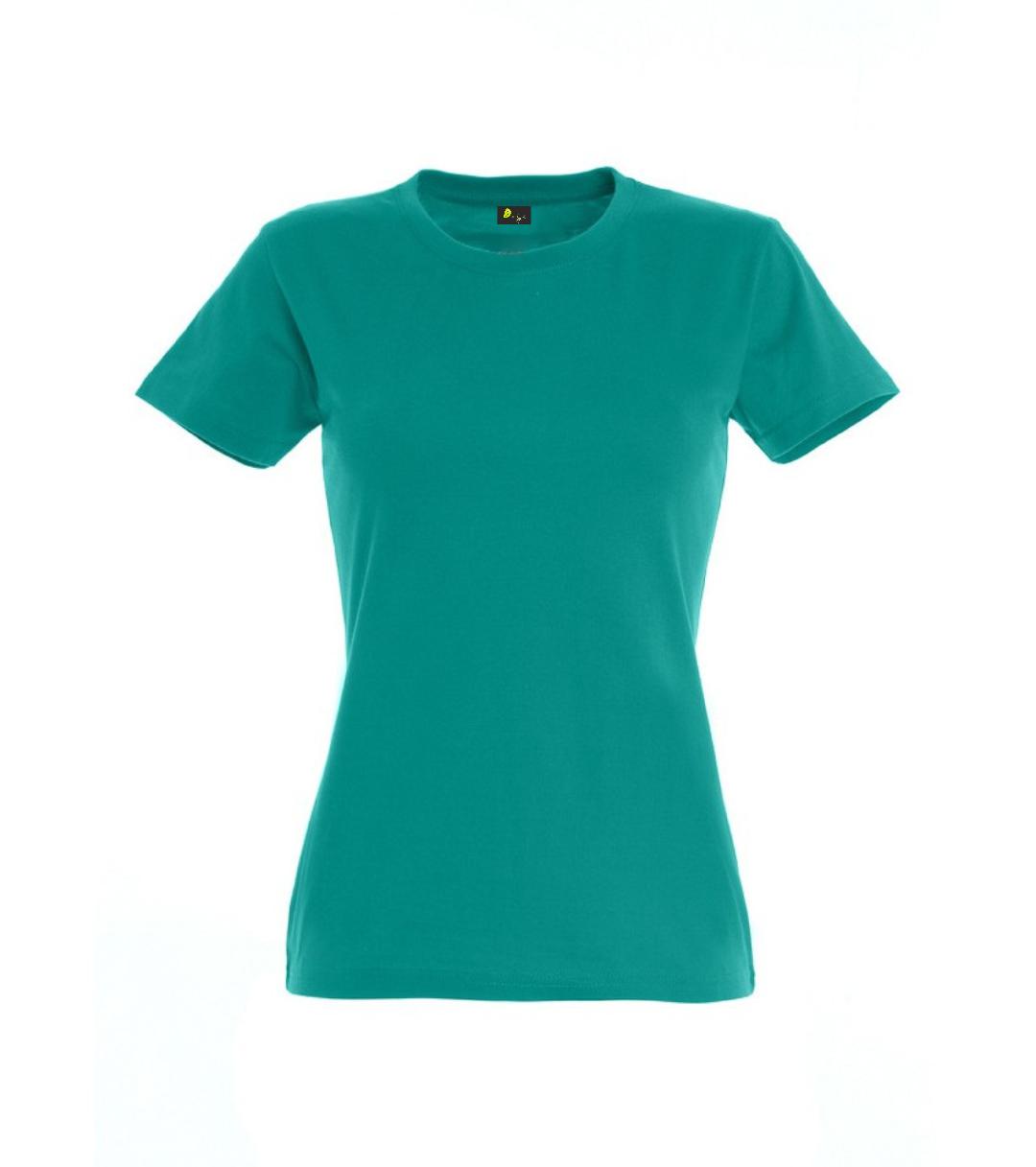 T-shirt manga curta de Senhora