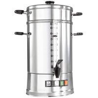 Máquina de café ; 16.5l, 28x57cm (DxH); prata/ preto; com sistema de filtro; 1 peça