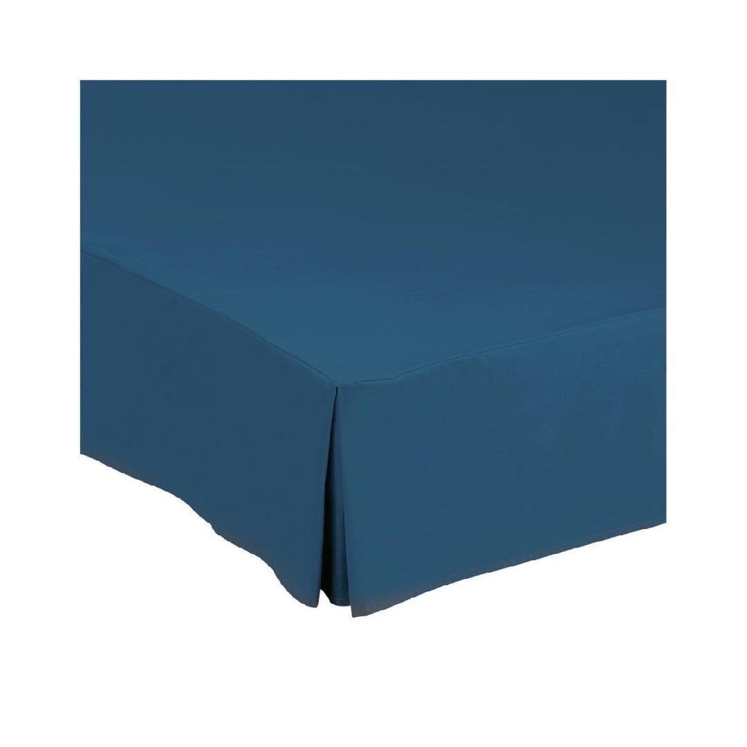 Estofo de cama  Corfou; 140x190x30cm (CxLxA); azul; 1 peça