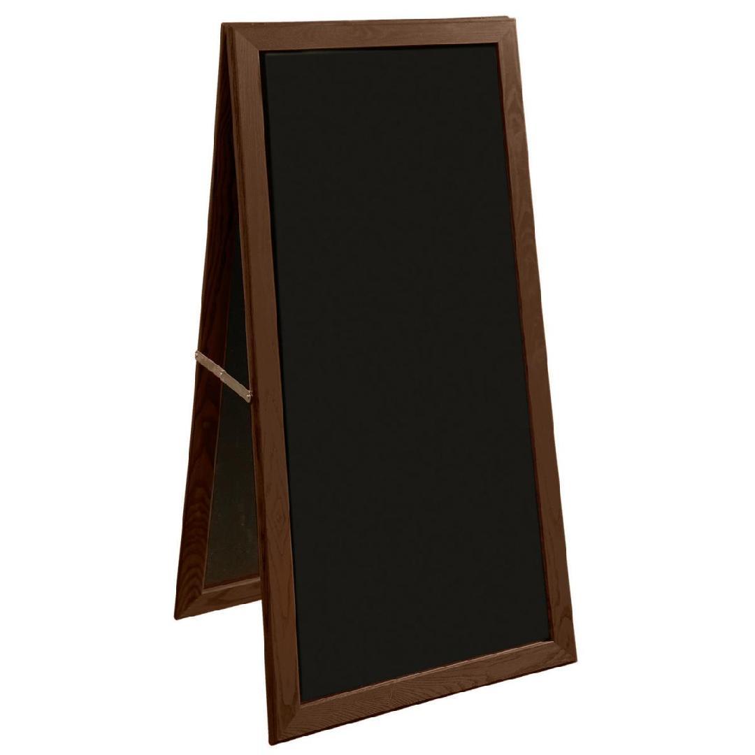 Placa exterior Manet, 56x170cm (WxH) nogueira, sem pernas, 1 peça