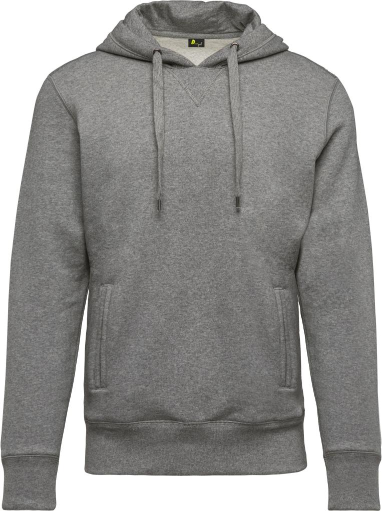 Sweat- Shirt Man - Hooded - Bio- Dauti