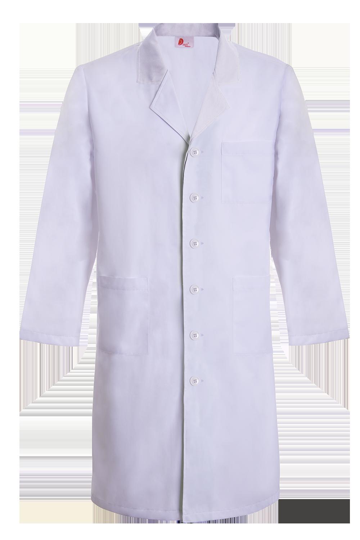 Túnica / Bata básica Unissexo para Enfermeiros, Farmácia e Fisioterapia, manga comprida - Camacha