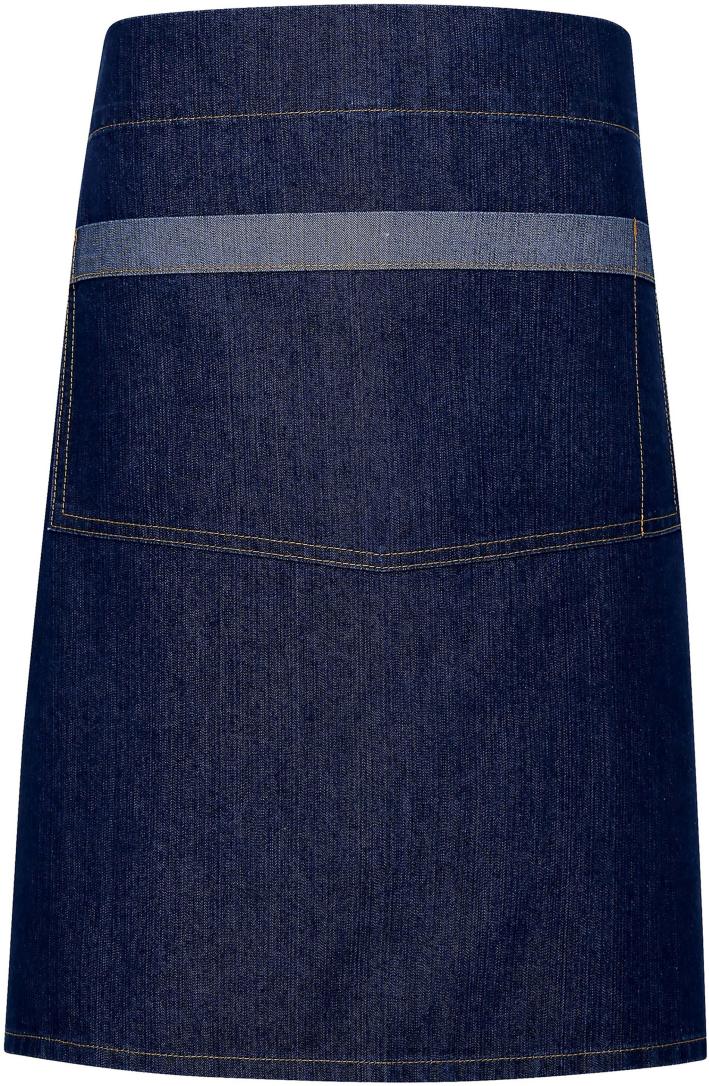 Avental de cintura em ganga