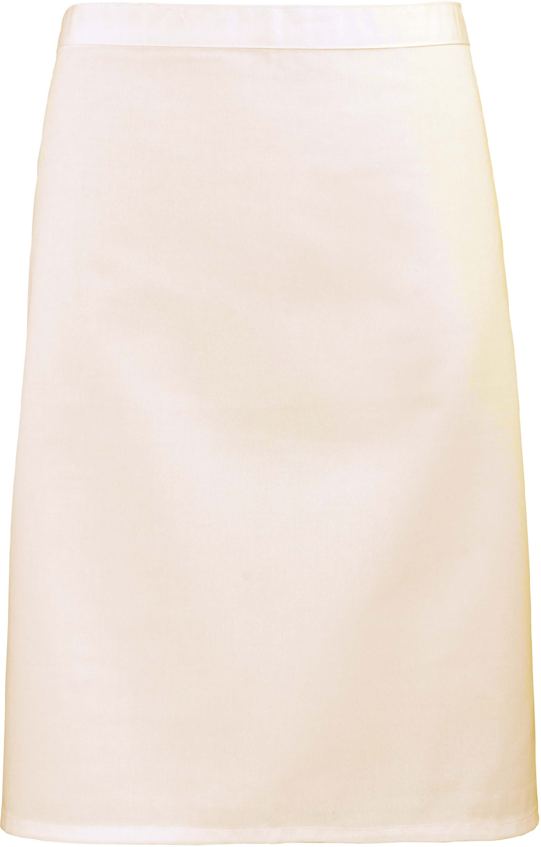 Avental Unissexo de cintura básico comprimento médio