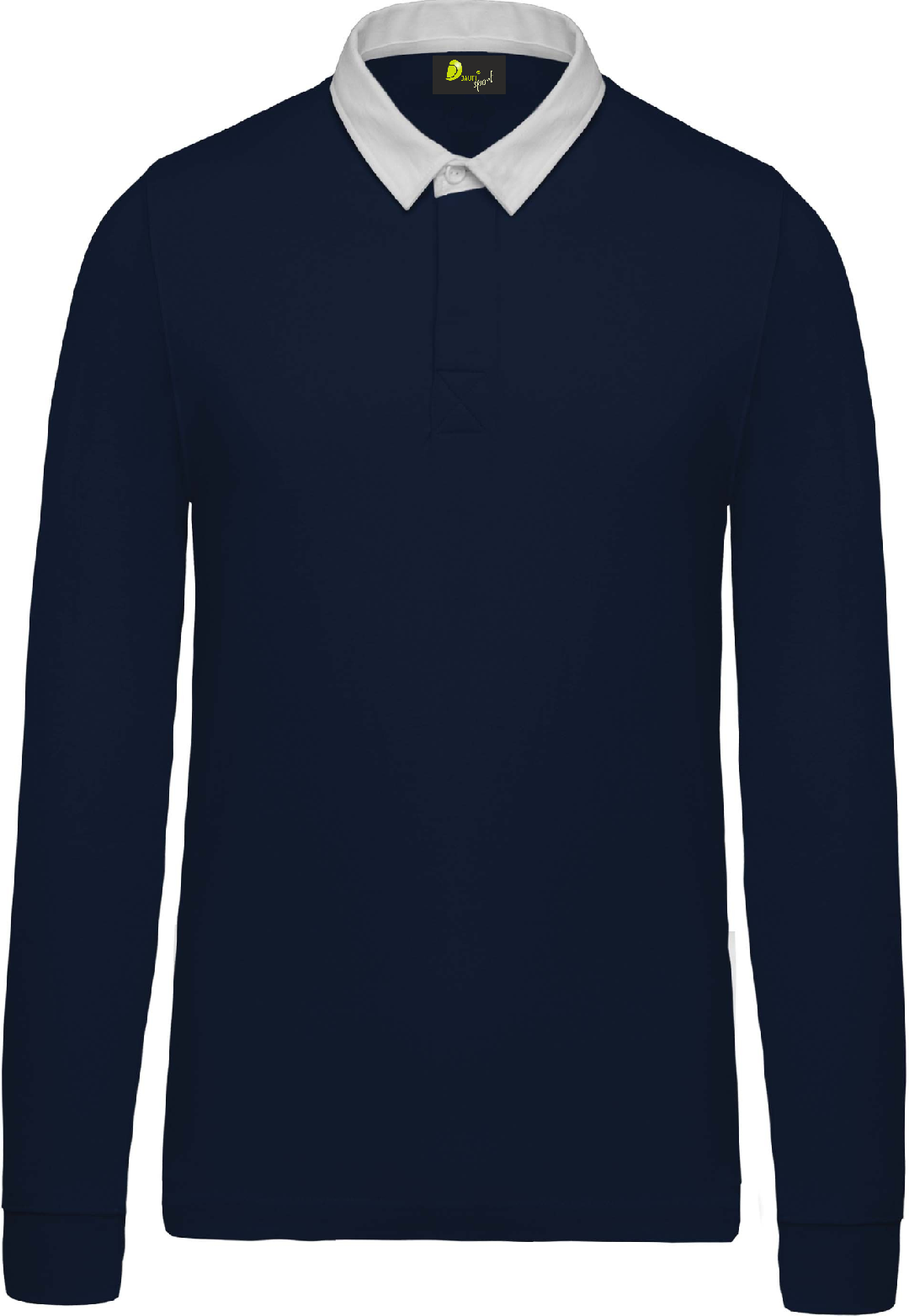 Polo child 100% cotton jersey long sleeve